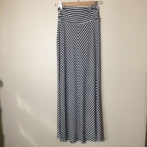 Dresses & Skirts - Chevron Striped Maxi, Size S